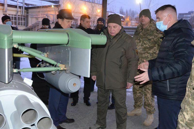 Новинки оборонно-промислового комплексу України представлені очільнику Міноборони (фото)