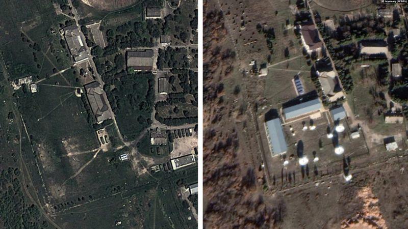 Крим перетворився на суцільну військову базу Росії (фото)