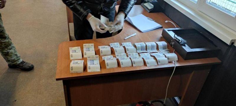 Прикордонники зупинили «мушкетера» в Станиці Луганській (фото)