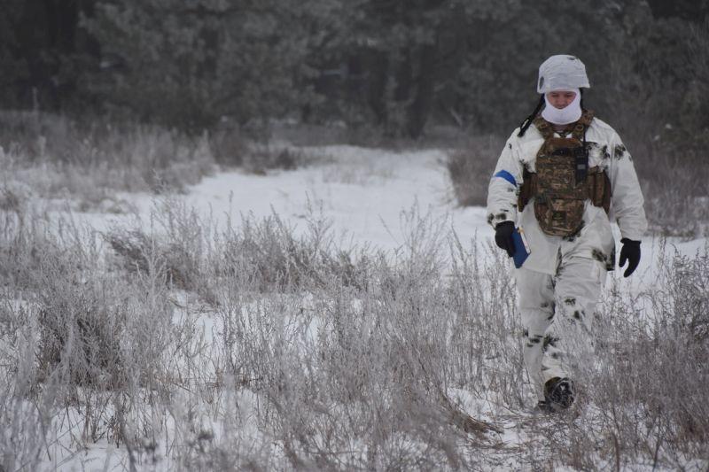 Навчання з позначенням дій військ проводять Збройні сили України (фото)