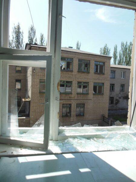 Прокуратура підготувала повідомлення до МКС стосовно обстрілів бойовиками РФ цивільних об'єктів (ФОТО)