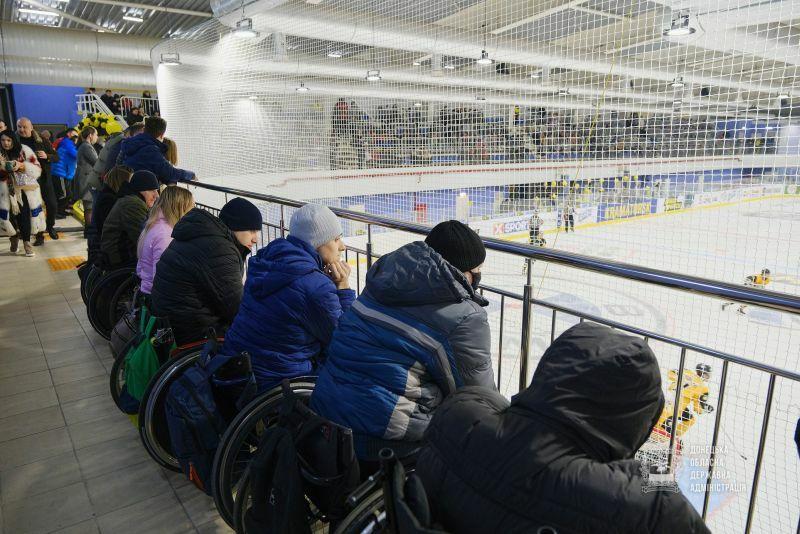 На Донеччині відкрили нову спортивну арену (фото)