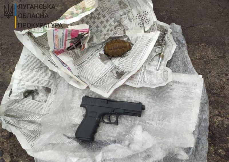 Мешканця Рубіжного затримано за нелегальний збут вогнепальної зброї та боєприпасів (ФОТО)