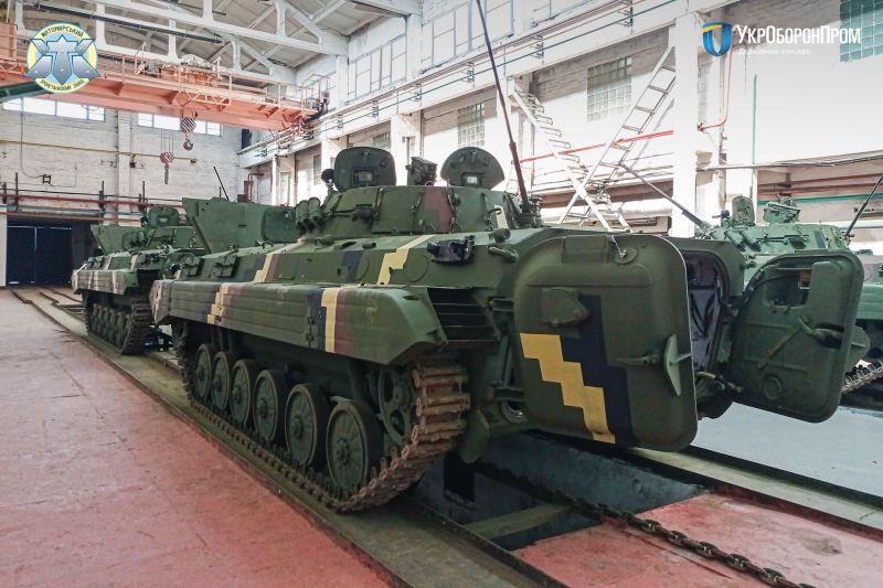 5 одиниць бойових машин піхоти після ремонту передано українському війську
